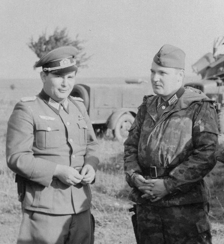 10. Oberst Hauschild mit OSL Borutzki