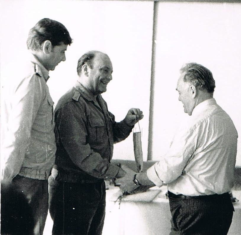 13. Mj. Lips, Mj. Bergmann, Ernst Herold-KIB Erfurt