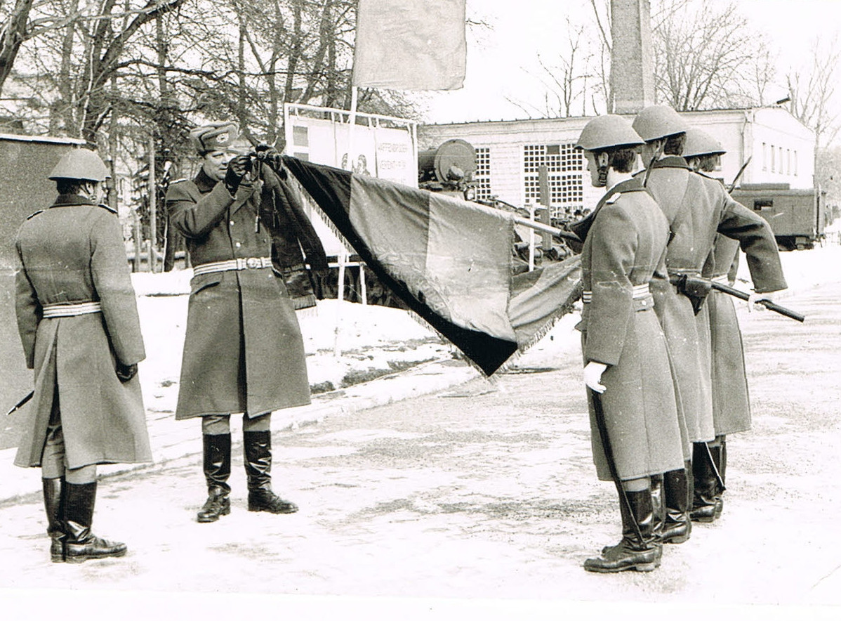 52. Oberst Leistner - Ehrenschleife zur Truppenfahne