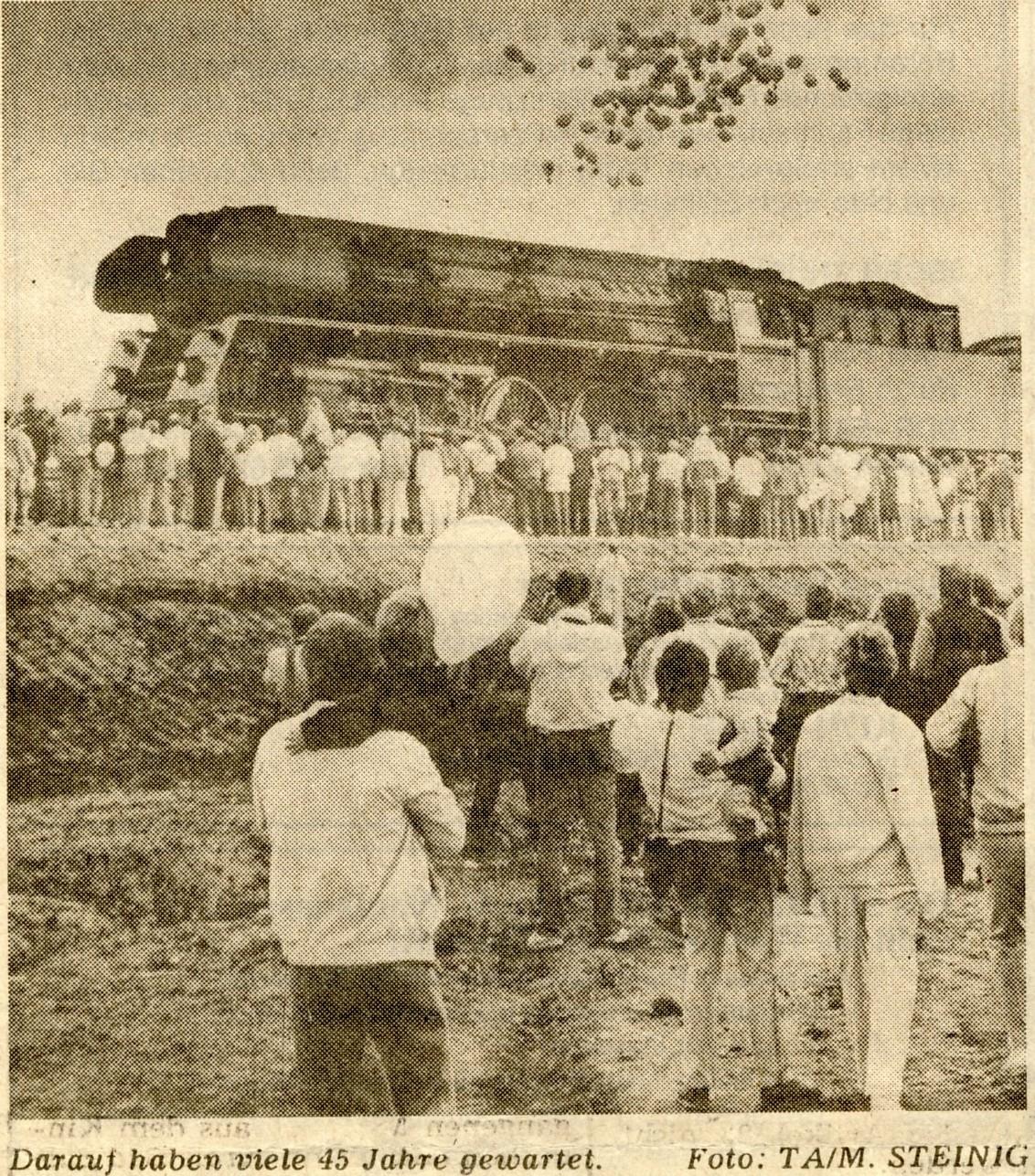 63. Der Zug rollt wieder