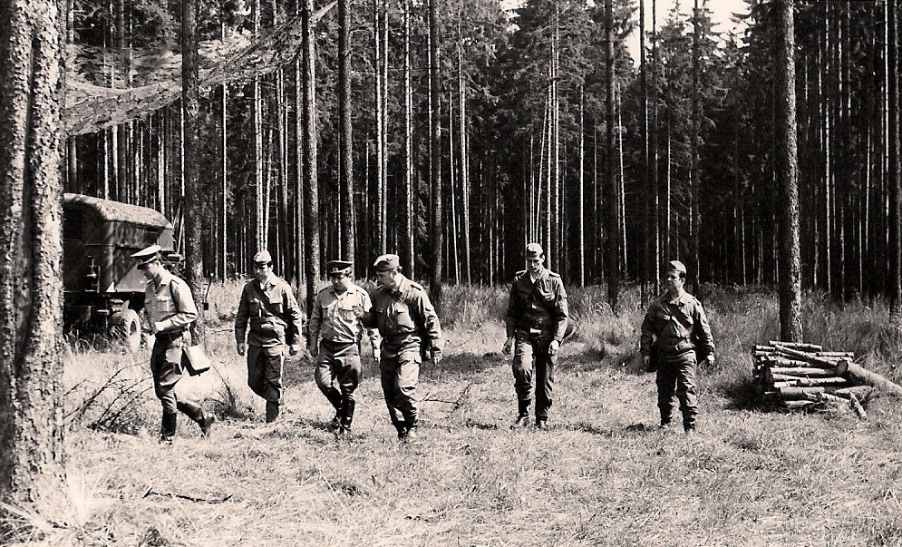 9. Rekognoszierung im Gelände - 1975